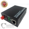 Media Converter 10/100Mbps, FC Connector, 40KM, 1310nm/1550nm, Single Fiber